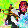 What A Wonderful World Louis Armstrong 20141218 With Text P50 by Wingsdomain Art and Photography