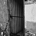 What Horrors Lie Beyond This Entrance - Bw by Trever Miller