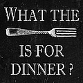What The Fork Is For Dinner? by Jaime Friedman