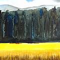Wheat Field 2 by Carlin Blahnik CarlinArtWatercolor
