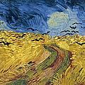 Wheatfield With Crows by Celestial Images