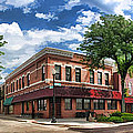 Wheaton Front Street Panorama by Christopher Arndt