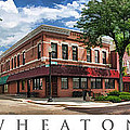 Wheaton Front Street Panorama Poster by Christopher Arndt