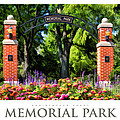Wheaton Memorial Park Poster by Christopher Arndt