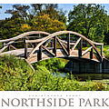Wheaton Northside Park Bridge Poster by Christopher Arndt