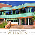 Wheaton Public Library Poster by Christopher Arndt