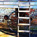 Wheel And Ladder by Holly Blunkall