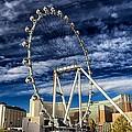 Wheel In The Sky Las Vegas by Michael Rogers