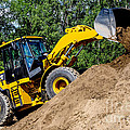 Wheel Loader Construction Site by Gary Whitton