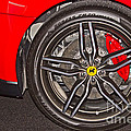 Wheel Of A Ferrari by Tom Gari Gallery-Three-Photography