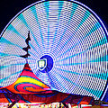 Wheel Of Light Work B by David Lee Thompson
