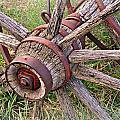 Wheel Of Old by Marty Koch