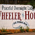 Wheeler House by Jeff Gater