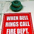 When Bell Rings by Ed Weidman