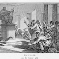 When Plague-afflicted Romans  Come by Mary Evans Picture Library