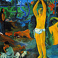 Where Do We Come From. What Are We Doing. Where Are We Going by Paul Gauguin