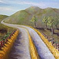 Autumn Road by Laurie Morgan