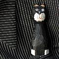 Whimsical Cat by Alida Thorpe
