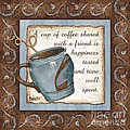Whimsical Coffee 2 by Debbie DeWitt