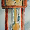 Whimsical Time Piece by Elaine Duras