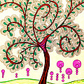 Whimsy Tree by Anita Lewis