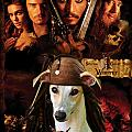 Whippet Art - Pirates Of The Caribbean The Curse Of The Black Pearl Movie Poster by Sandra Sij