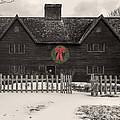 Whipple House Christmas by David Stone