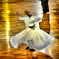 Whirling Dervish - 6 by Okan YILMAZ