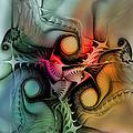 Whirlpool-abstract Art by Karin Kuhlmann