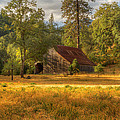 Whiskeytown Barn by Randy Wood