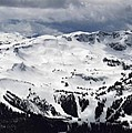 Whistler Mountain View From Blackcomb by Pierre Leclerc Photography