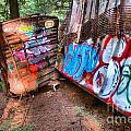Whistler Train Wreck Covered In Graffiti by Adam Jewell