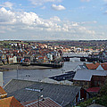 Whitby Rooftops by Rod Johnson