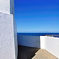 White And Blue To Ocean View by Kaye Menner