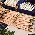 White Asparagus by Allen Sheffield