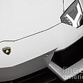 White Aventador by Dennis Hedberg