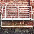 White Bench by Tom Gowanlock
