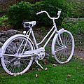 White Bicycle by Dragan Kudjerski