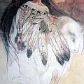 White Buffalo Calf Woman by Pamela Mccabe