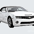 White Camaro by Tommy Anderson