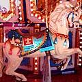 White Carousel Horse by Amy Vangsgard