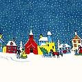 White Christmas by Munir Alawi