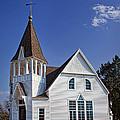 White Church by Elena Nosyreva