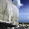 White Cliffs At Birling Gap by Deborah Benbrook