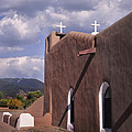White Crosses At Taos by David and Carol Kelly