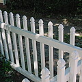 White Fence Provincetown by Mike McCool