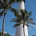 White Florida Lighthouse by Denise Thompson