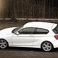 White Hatchback Car by Dutourdumonde Photography