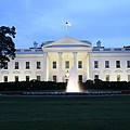 White House In Eveninglight Washington Dc by Christiane Schulze Art And Photography
