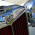 White Mg With Red Grille by Mark Steven Burhart